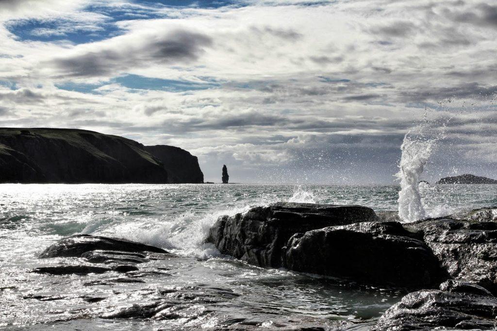 Am Buachaill sea-stack