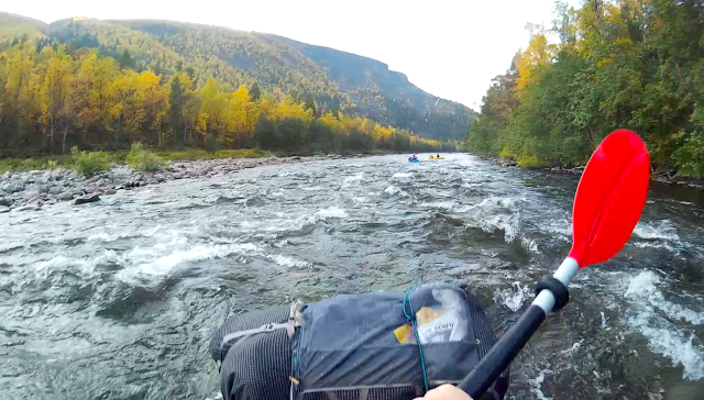 Packrafting the Reisa, Norway